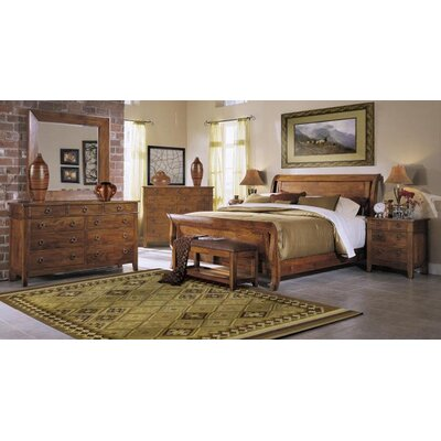 klaussner furniture urban craftsmen sleigh bedroom collection