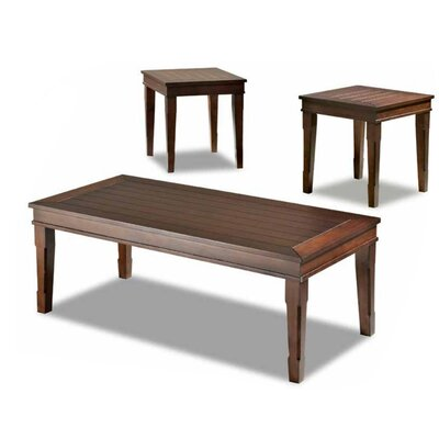 Klaussner Furniture Manchester 3 Piece Coffee Table Set