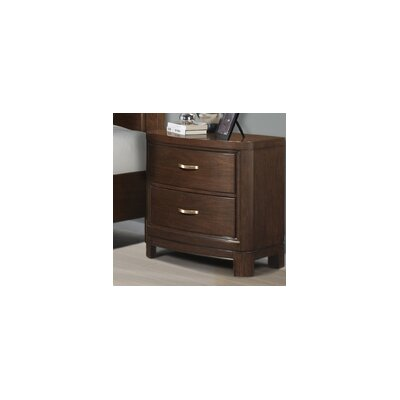 Eclipse 2 Drawer Nightstand