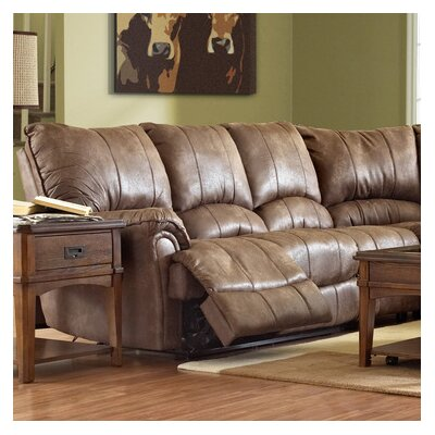 Briscoe-US Left Arm Facing Reclining Loveseat