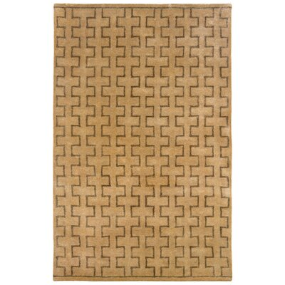 LR Resources Majestic Natural Geometric Rug