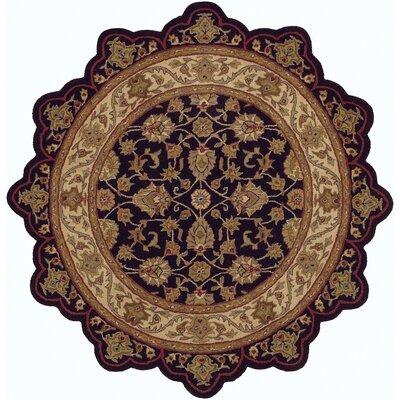 Shapes Black/Ivory Persian Rug