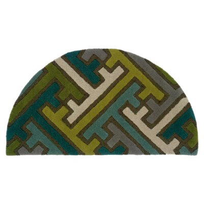 LR Resources Vibrance Miami Geometric Puzzle Rug