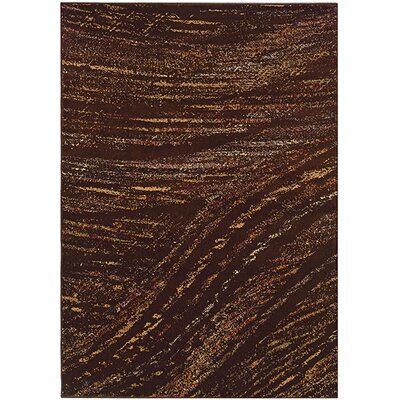 LR Resources Adana Brown/Light Brown Rug