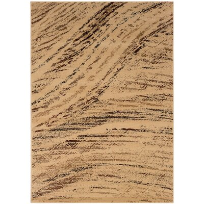 LR Resources Adana Cream/Brown Rug