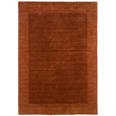 LR Resources Loom Seridian Sabatini Rust Rug
