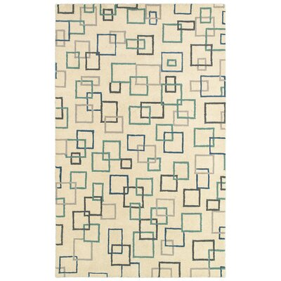 LR Resources Allure Beige Rug