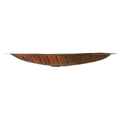 Thompson Traders Legacy Otono Leaf Shaped Bathroom Sink