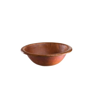 Alder II Hand Hammered Copper Bathroom Sink
