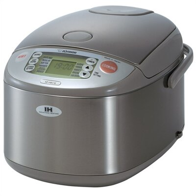 Zojirushi Induction Heating Stainless Steel Rice Cooker & Warmer