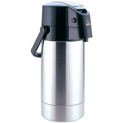 Air Pot Stainless Steel Beverage Dispenser