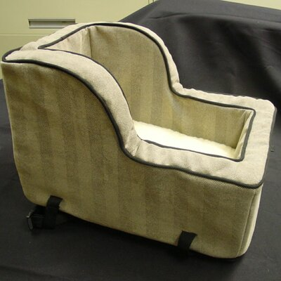 Luxury Large High-Back Console Pet Car Seat