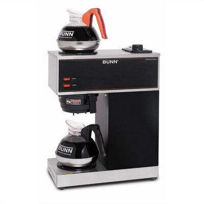 Bunn Pour O Matic Two Burner Pour Over Coffee Brewer