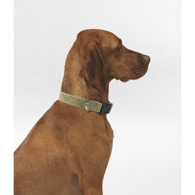 Triple Layer Safari Microvelvet Dog Collar