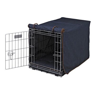 Bowsers Luxury Diam Cotton Dog Crate Cover