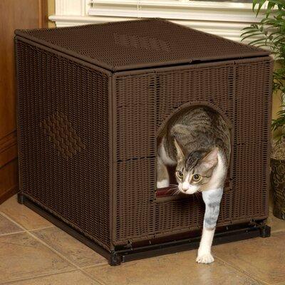 Cat Litter Box Cover Petlife