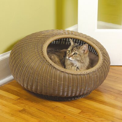 Mr. Herzher's Decorative Cat Pod in Medium Brown