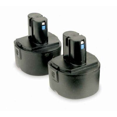 Legacy MFG Set of 2 - Replacement 12V Batteries for L1380 Grease Gun