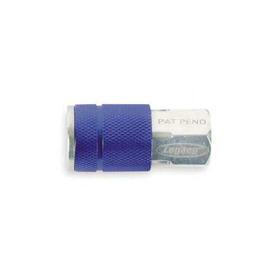 Legacy MFG Blue 1/4 Fnpt Coupler Type C