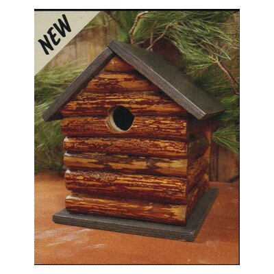 Log Cabin Bird House