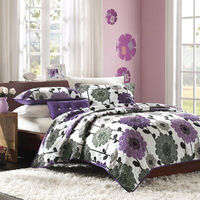 Mi-Zone Anthea Quilt Set