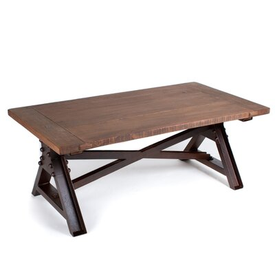 CG Sparks Wooden Top Coffee Table