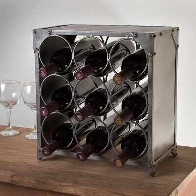 CG Sparks 9 Bottle Tabletop Wine Rack