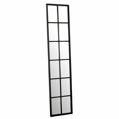 CG Sparks Tall 12 Pane Iron Window Mirror