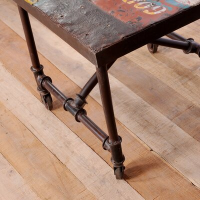 CG Sparks Freight Truck End Table