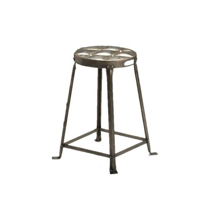 CG Sparks Metal Tufted Stool