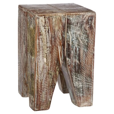 CG Sparks Stripped Wood End Table