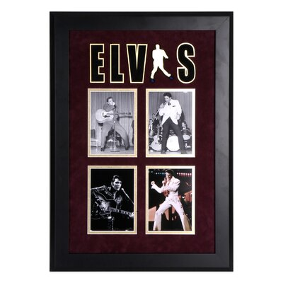 "Mounted Memories Elvis Presley Framed Photo Presentation - 27"" X 19"""