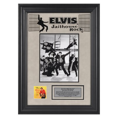 "Mounted Memories Elvis Presley ""Jailhouse Rock"" II Framed Presentation - 23"" X 16"""