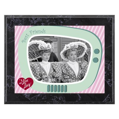 "Mounted Memories I Love Lucy ""A Wonderful Pair"" Plaque - 10.5"" X 13"""