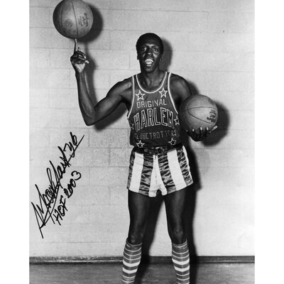 "Mounted Memories Meadowlark Lemon Harlem Globetrotters Autographed Photograph with ""HOF 2003"" Inscription"
