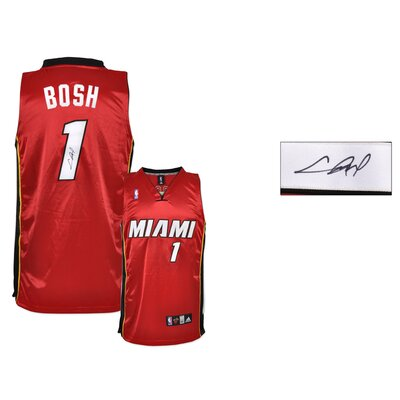 Chris Bosh Miami Heat Autographed Jersey