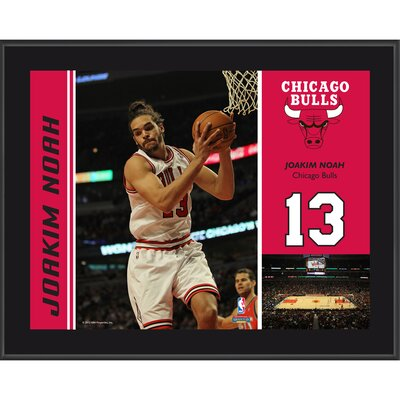Joakim Noah Chicago Bulls Sublimated Player Photo Plaque