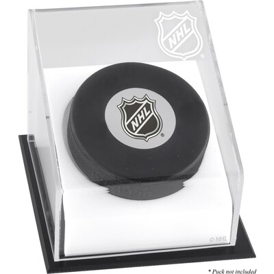 Mounted Memories NHL Hockey Puck Logo Display Case
