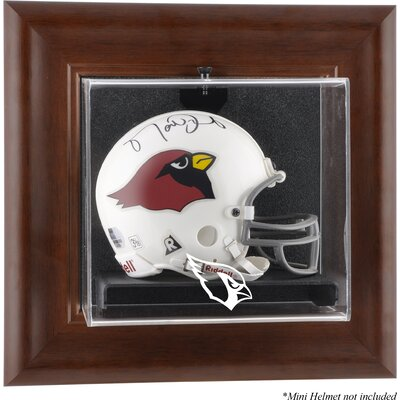 Mounted Memories NFL Wall Mounted Logo Mini Helmet Case