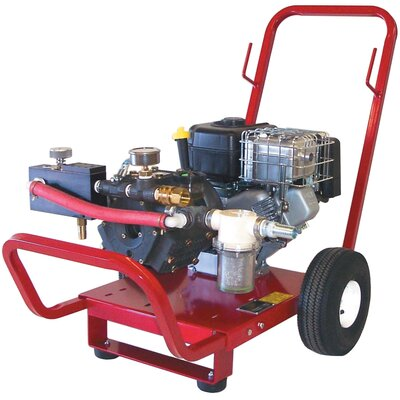 Wheeler Rex Gas Powered Triple Diaphragm Hydrostatic Test Pump