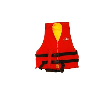 Life Child Vest in Red / Yellow