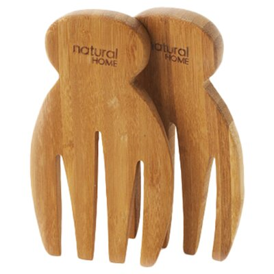 <strong>Natural Home</strong> Bamboo Salad Hand (Set of 2)