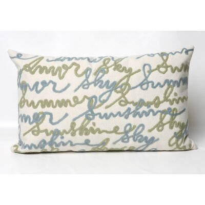Liora Manne Amour Rectangle Indoor/Outdoor Pillow