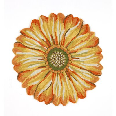 Liora Manne Frontporch Sunflower Rug