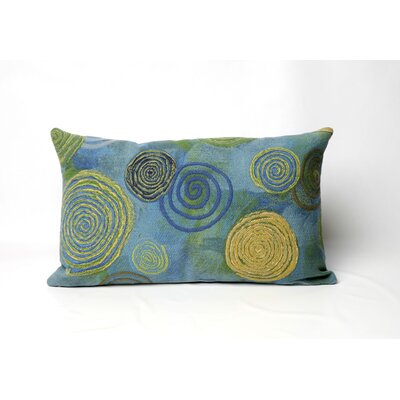 Liora Manne Graffiti Swirl Rectangle Indoor/Outdoor Pillow