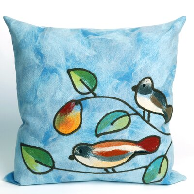 Liora Manne Song Birds Square Indoor/Outdoor Pillow