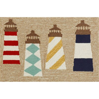 Liora Manne Frontporch Lighthouses Rug