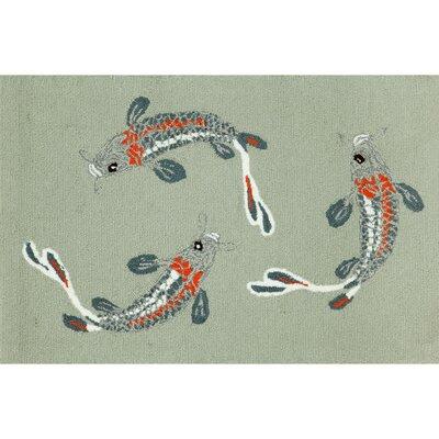 Liora Manne Frontporch Koi Fish Rug