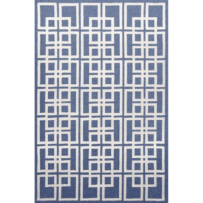 Liora Manne Capri Denim Oriental Square Outdoor Rug