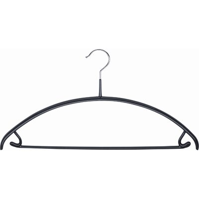 Mawa Mawa Economic 42/U Hangers in Black (Pack of 12)